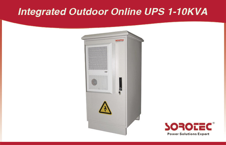 240VAC 60Hz haute fréquence Outdoor UPS online 3KVA / 2400W, 6KVA / 4800W fournisseur